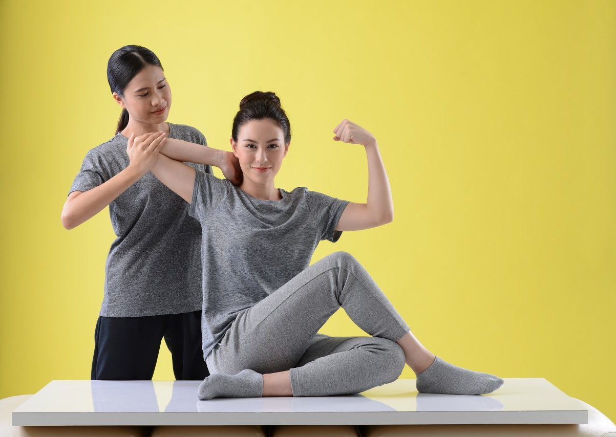 Stretching – Arms