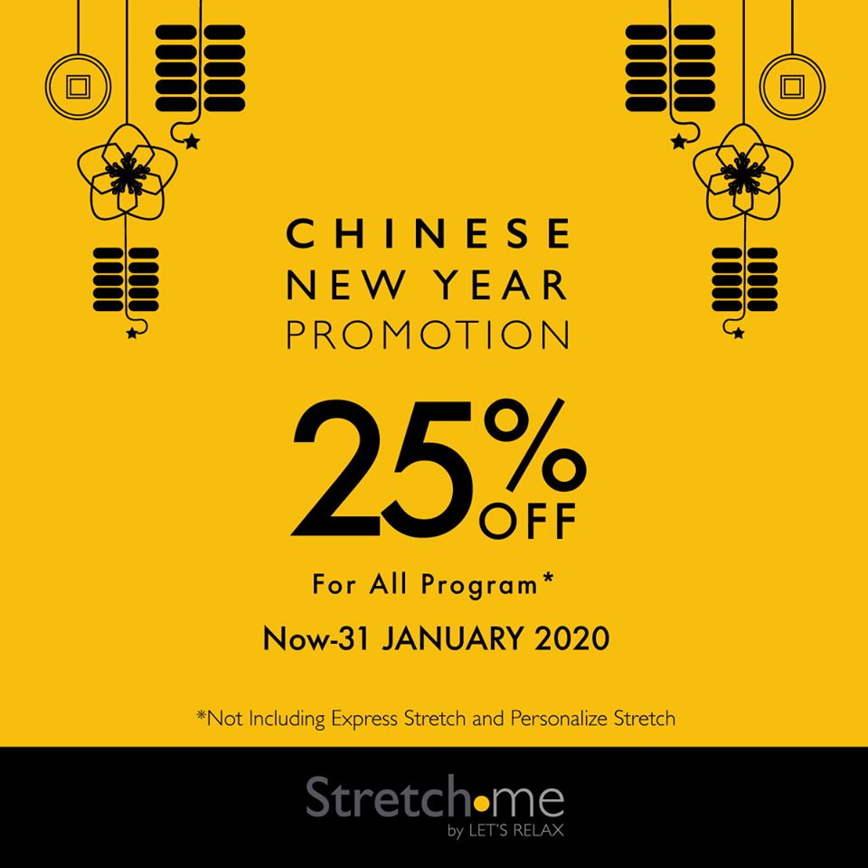 Stretch me - Chinese Newyear Promotion 25%